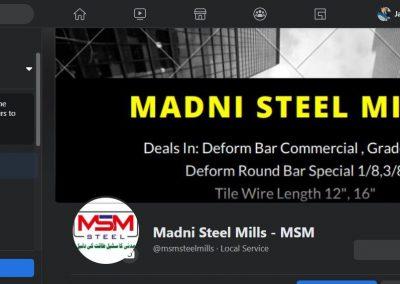 Madni Steel FB