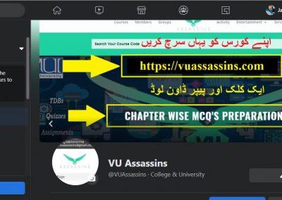 VU Assassins FB